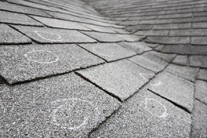 Photo of roofing shingles